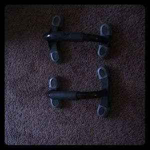 Some push-up bars